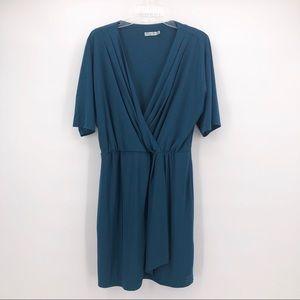 Eliza J Dark Teal Dress